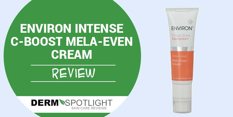 Environ Intense C-Boost Mela-Even Cream Review – Is It Worth Trying?