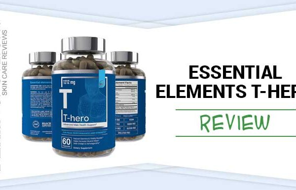 A Complete Review of T-Hero Testosterone Booster By Essential Elements
