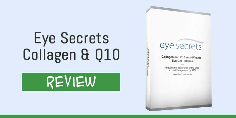 Eye Secrets Collagen and Q10 Gel Patches Reviews