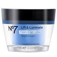 No. 7 Lift & Luminate Triple Action Night Cream