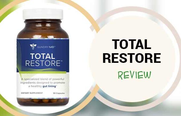 Total Restore: Review of Gundry MD Total Restore Gut Lining Support Blend – 90 Capsules